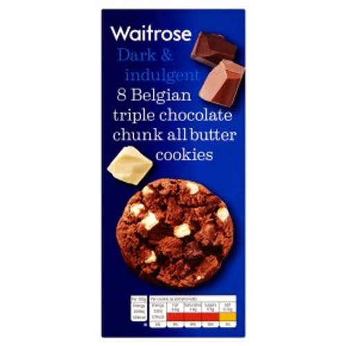 Waitrose Belgian Chocolate Cookies