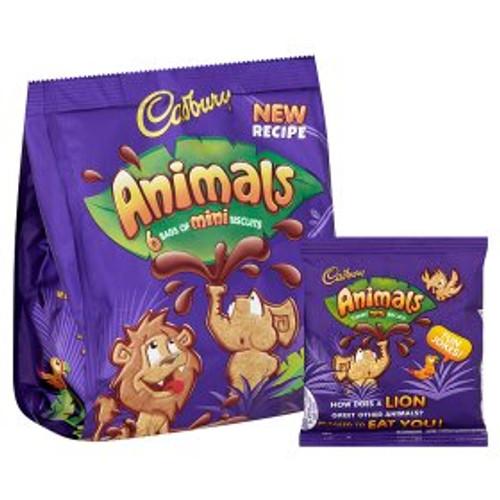 Cadbury Animals Chocolate Biscuits