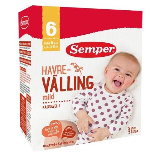 Semper Havre Valling Mild Oat Baby Cereal Drink from 6 Mths 725g