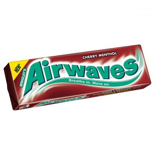 Airwaves Cherry Menthol 14g - 5 Pack
