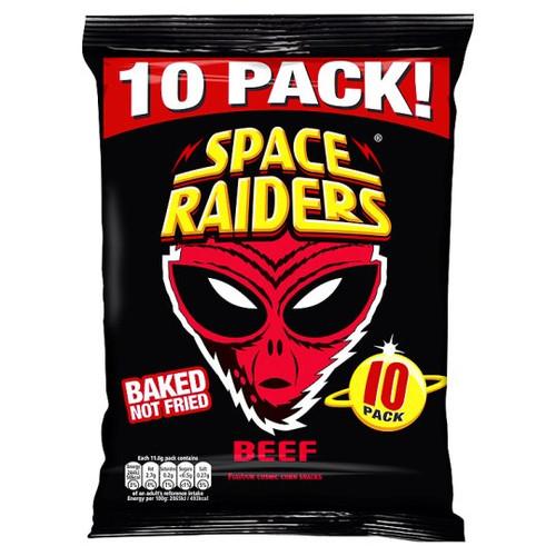 Space Raiders Beef 10X11.8G Pack