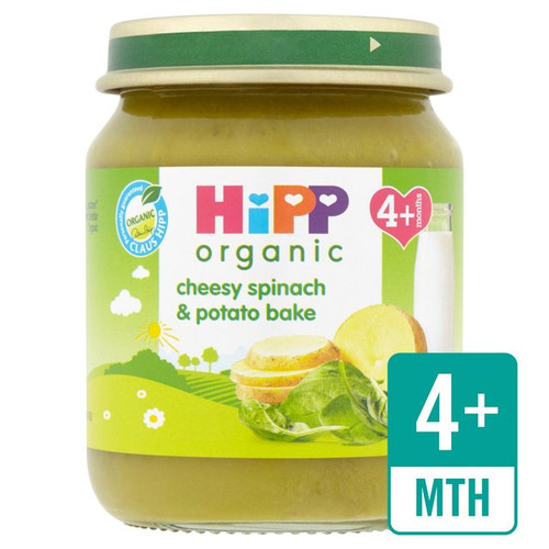 HiPP Organic Cheesy Spinach & Potato Bake 125g