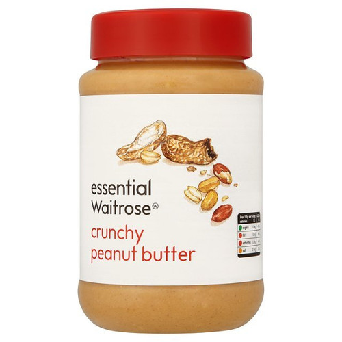 Essential Waitrose Crunchy Peanut Butter 454g