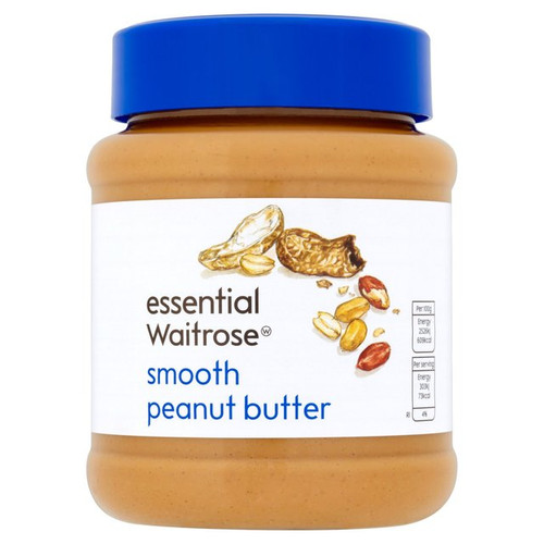 Essential Waitrose Smooth Peanut Butter 340g