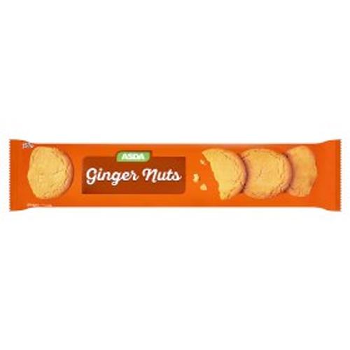 Asda Ginger Nuts Biscuits 250g