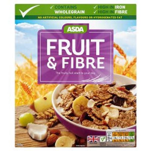 Asda Fruit & Fibre 750g
