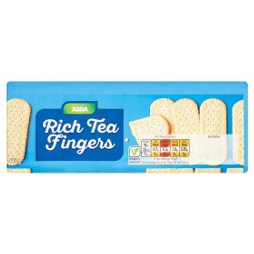 ASDA Rich Tea Fingers 200g