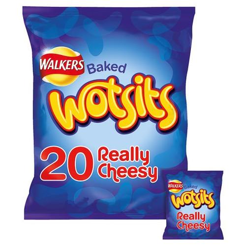 Walkers Wotsits Cheesy Corn Puffs 20 Pack