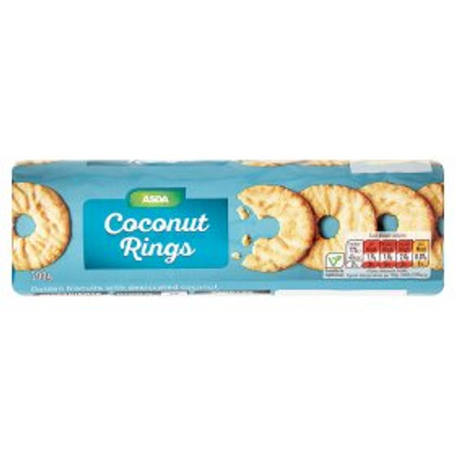ASDA Coconut Rings 200g