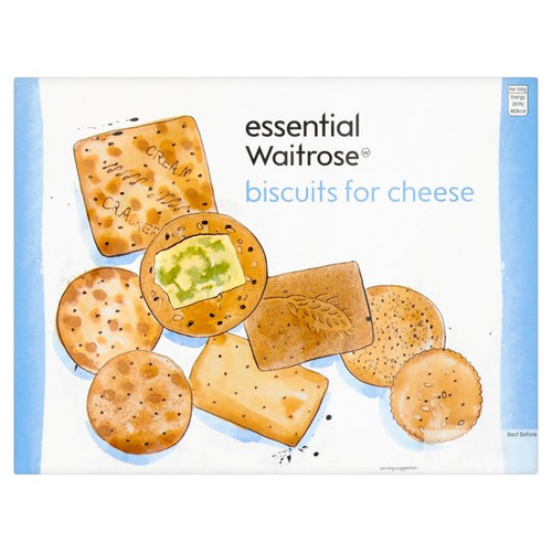 Essential Waitrose Biscuits For Cheese 300g