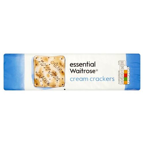 Essential Waitrose Cream Crackers 300g