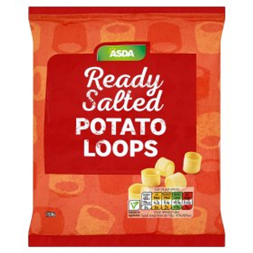 ASDA Loops Ready Salted 150g