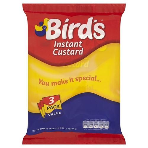Birds Instant Custard 3 x 75g Pack