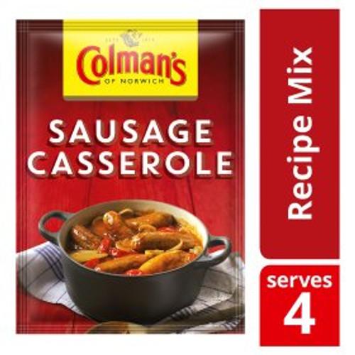 Colmans Sausage Casserole Mix 39g