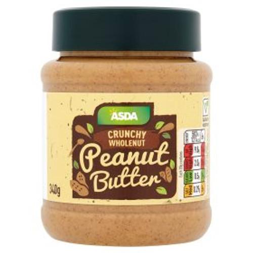 ASDA Crunchy Wholenut Peanut Butter 340g