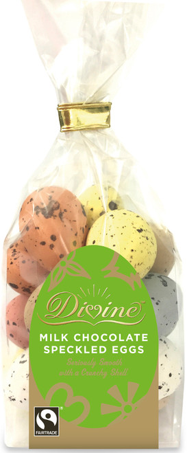 Divine Milk Chocolate Speckled Eggs 159g