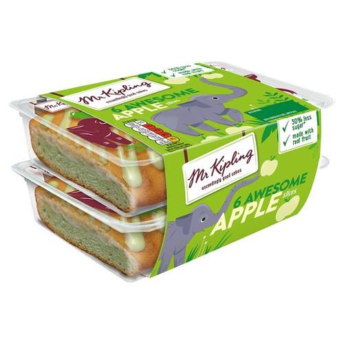 Mr Kipling Awesome Apple Slices 6 Pack
