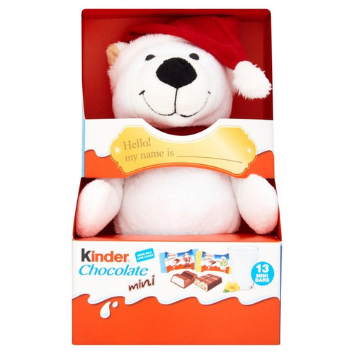 Kinder Fluffy Toy With 13 Mini Bars (styles may vary) 73g