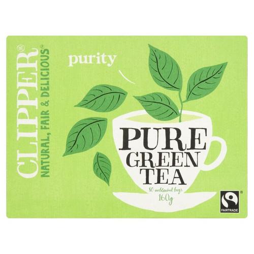 Clipper Pure Green Tea Bags 80