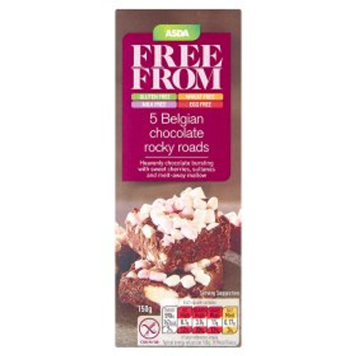 ASDA Free From Chocolate Rocky Road 150g