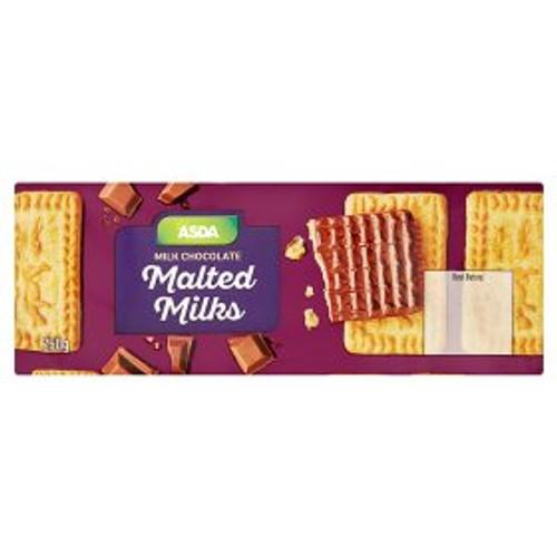 ASDA Chosen By You Chocolate Malted Milks 250g