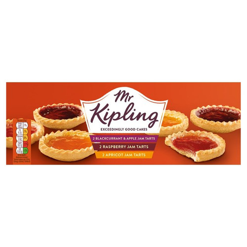 Mr Kipling Jam Tarts 6pk