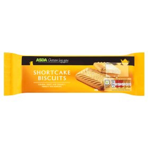 ASDA Chosen By You Shortcake Biscuits 200g