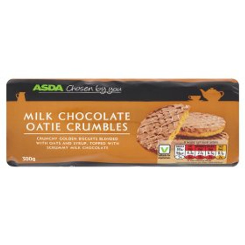 ASDA Chosen By You Milk Chocolate Oatie Crumbles 300g