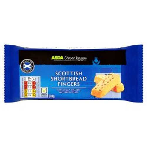 ASDA Chosen By You Shortbread Fingers 210g