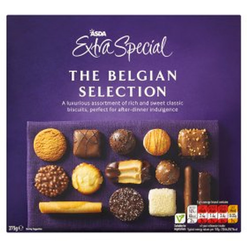 ASDA Extra Special The Belgian Biscuit Selection 375g