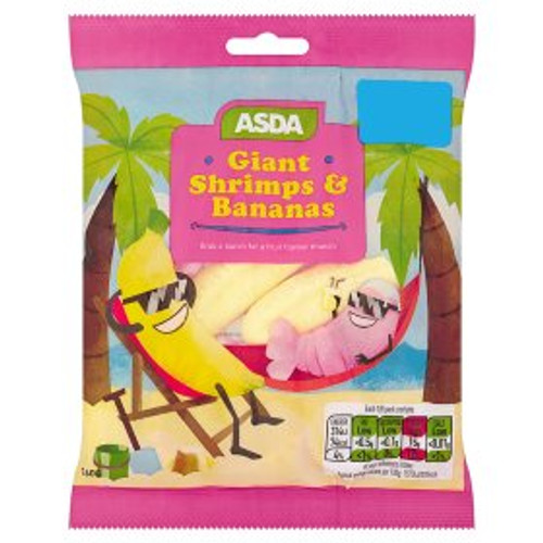 ASDA Giant Shrimps & Bananas 160g