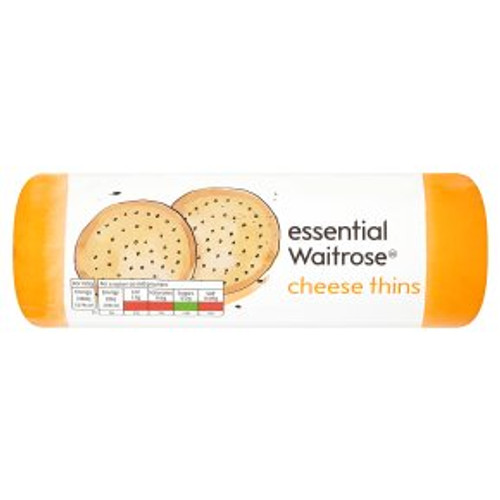 Essential Waitrose Cheese Thins 150g