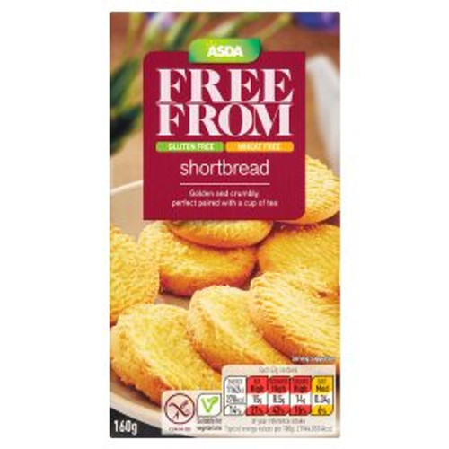 ASDA Free From Shortbread 160g