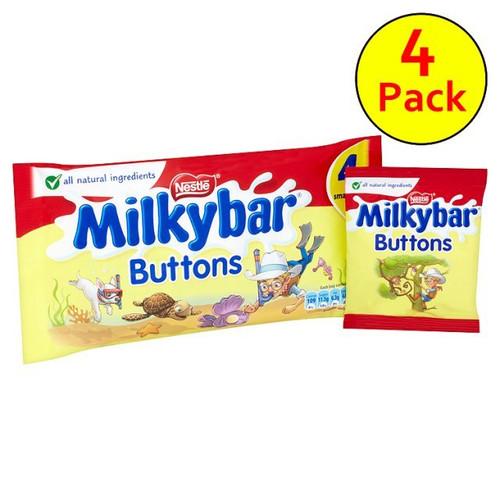Nestle Milkybar Buttons 4 Pack 80G
