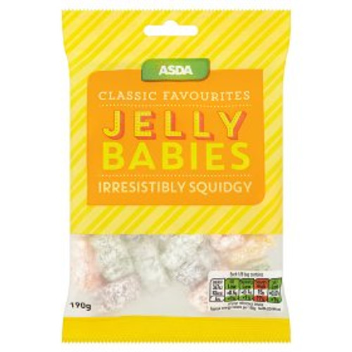 ASDA Classic Favourites Jelly Babies 190g
