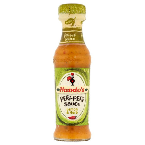 Nandos Lemon and Herb Peri Peri Sauce 125ml