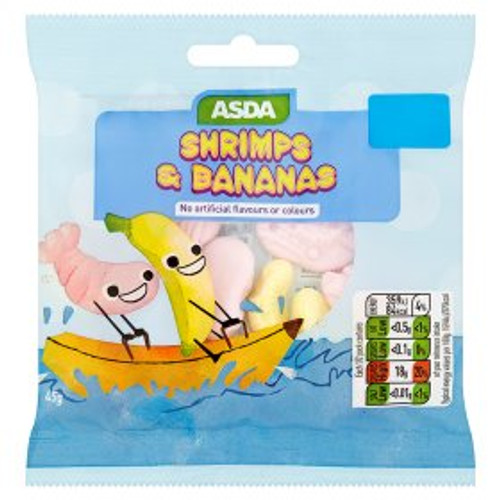 ASDA Shrimps & Bananas 45g