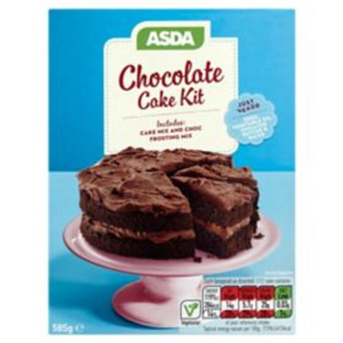 ASDA Chocolate Cake Kit 585g
