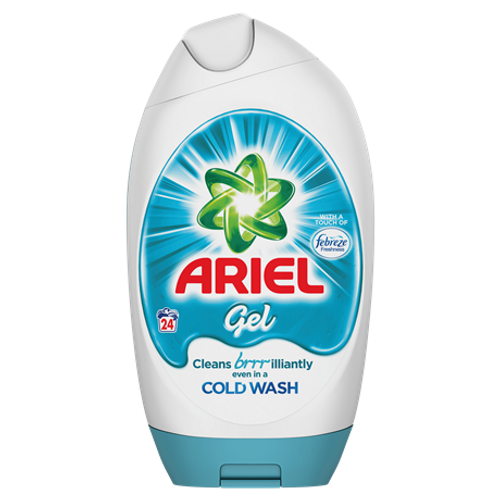 Ariel Washing Gel Febreze 24 Washes 888ml