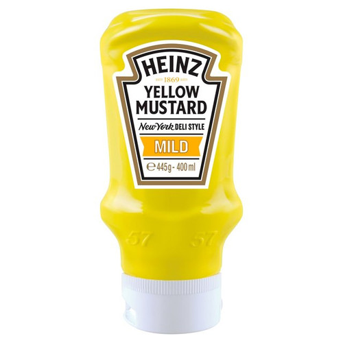 Heinz Yellow Mustard Mild 400ml