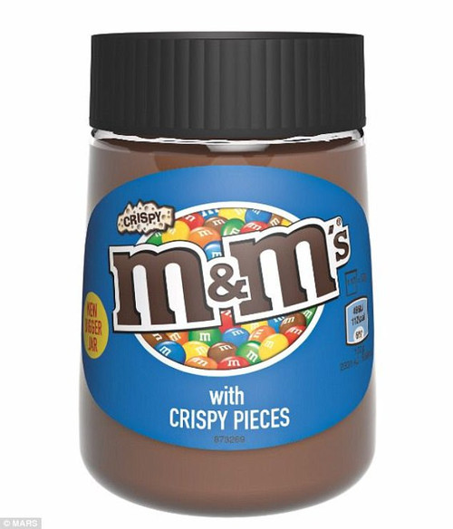M&M's Choc Spread with Crispy Pieces 350g