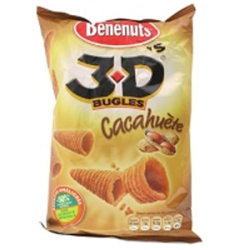 Benenuts 3D Bugles Cacahuètes 85g