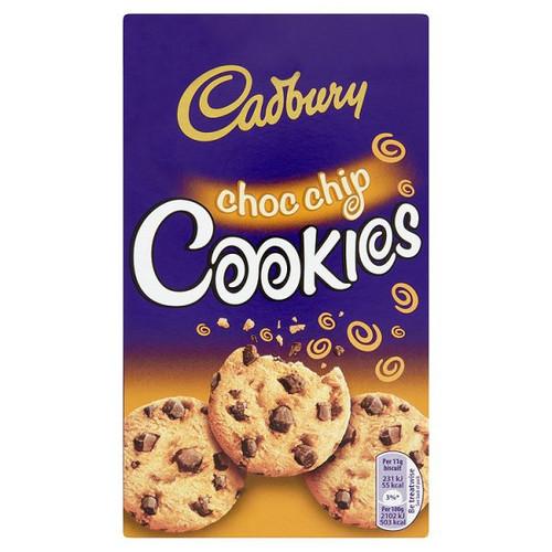 Cadbury Choc Chip Cookies 150g