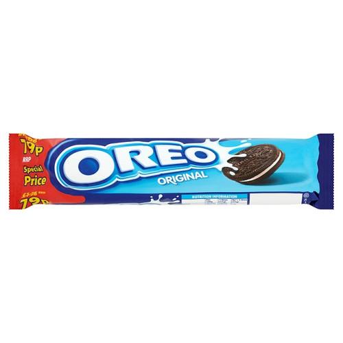 Oreo Original Sandwich Biscuits 154g