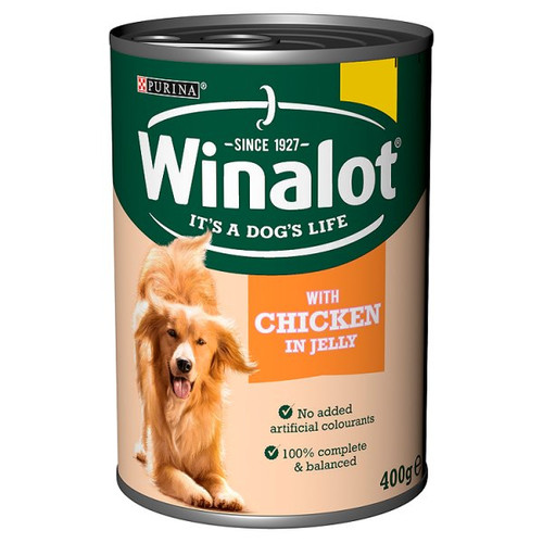 Winalot with Chicken in Jelly 400g