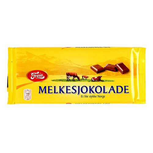Freia Melkesjokolade – Milk Chocolate 250g King Size
