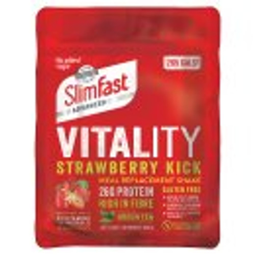 SlimFast Vitality Strawberry Kick Meal Replacement Shake 440g