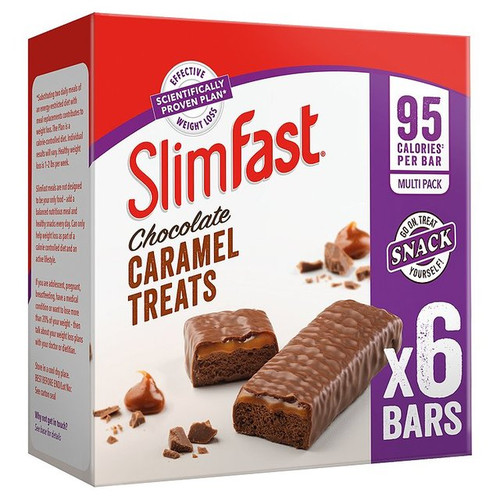 Slimfast Chocolate Caramel Treats 6 x 26g