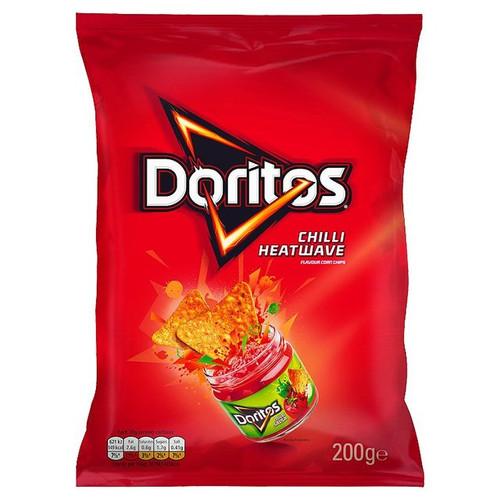 Doritos Chilli Heatwave Tortilla Chips 180g