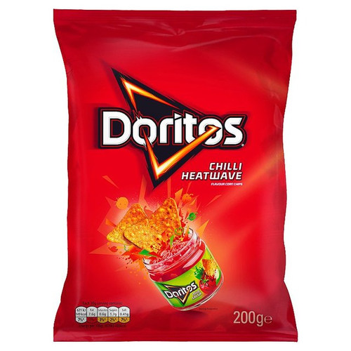 Doritos Chilli Heatwave Tortilla Chips 180g